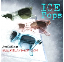 Sunglasses Candy Color Design Wayfarer